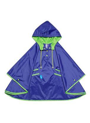 capa-de-chuva-infantil-kidsplash-lisa-azul-neon-frente